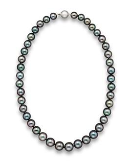 "Bloomingdale's - Tahitian Black Pearl Necklace, 18""- 100% Exclusive"