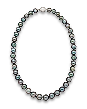 Tahitian Black Pearl Necklace, 18