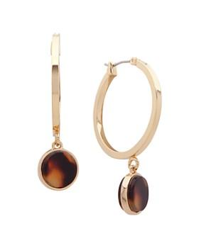 Ralph Lauren - Hoop Drop Earrings