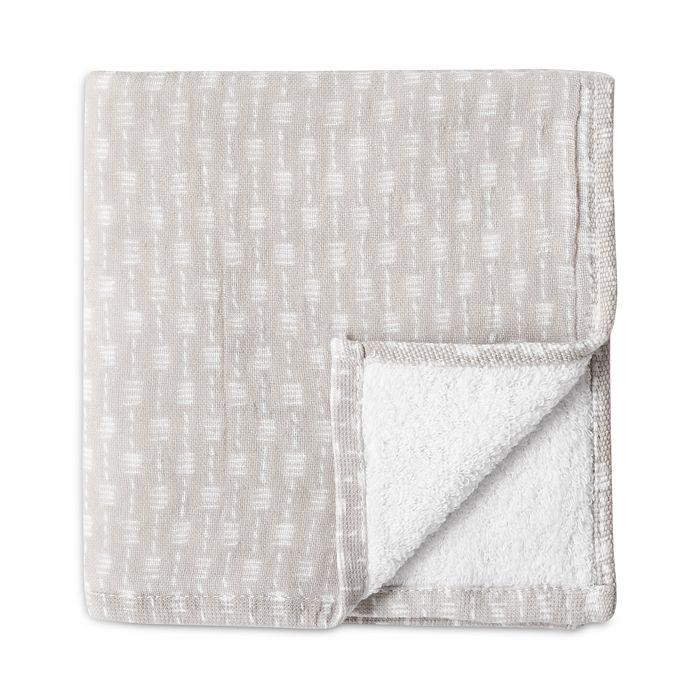 Uchino - Wicker Waffle Pile Washcloth