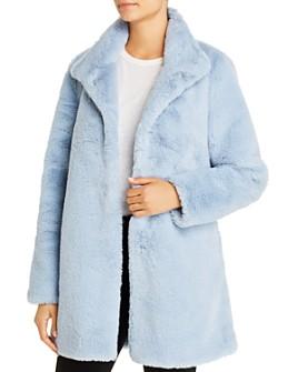 Calvin Klein - Faux Fur Coat