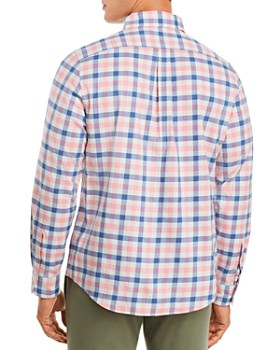 Vineyard Vines - Longshore Twill Plaid Slim Fit Button-Down Shirt