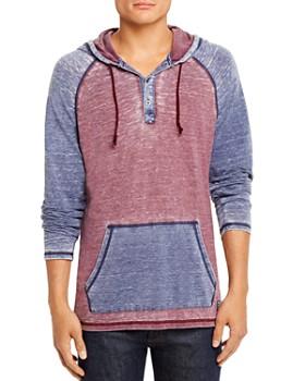 Flag & Anthem - Keldron Burnout Color-Block Hooded Sweatshirt