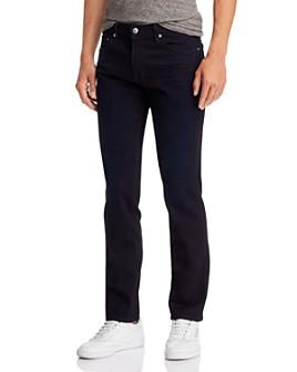 S.M.N Studio - Hunter Straight Slim Fit Jeans in Shadow