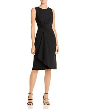 Donna Karan - Twist-Front Dress