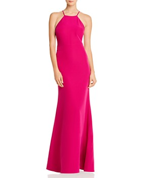 Laundry by Shelli Segal - Cutout Racerback Gown