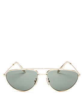 CELINE - Men's Brow Bar Aviator Sunglasses, 59mm