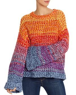 AQUA - Rainbow Marled Sweater - 100% Exclusive
