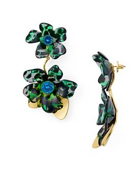 kate spade new york - Floral Drop Earrings