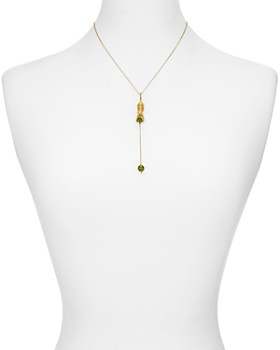 """kate spade new york - Cat & Sphere Lariat Necklace, 16"""""""