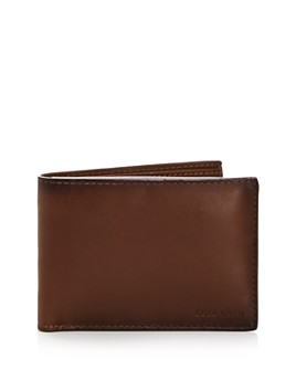 Cole Haan - Leather Wallet with Passcase