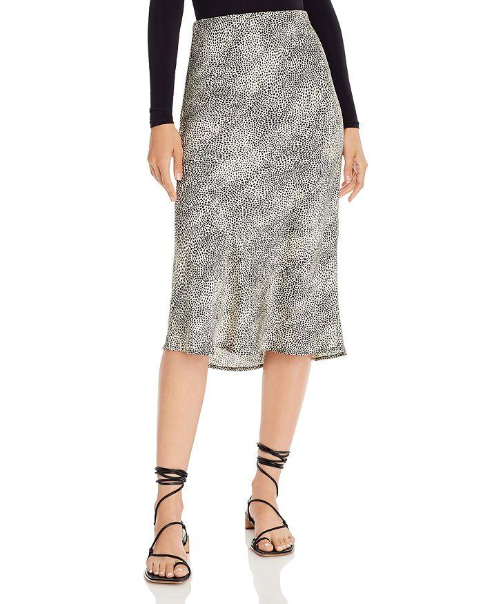 Re:Named - Animal-Print Midi Skirt