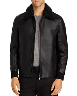 Theory - Tyler NC Kelleher Leather Jacket - 100% Exclusive