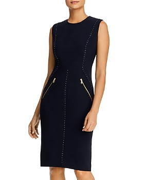 Donna Karan - Sleeveless Studded Dress