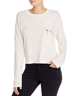 LNA - Zip Pocket Tee