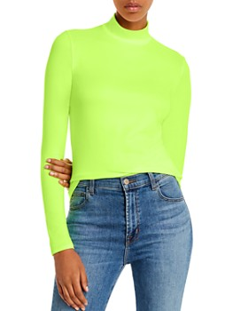 FORE - Mock-Neck Top