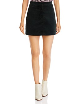 kate spade new york - Modern Corduroy Mini Skirt