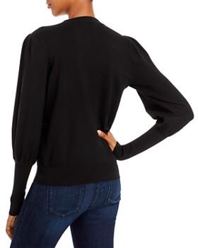 Minnie Rose - Balloon-Sleeve Sweater