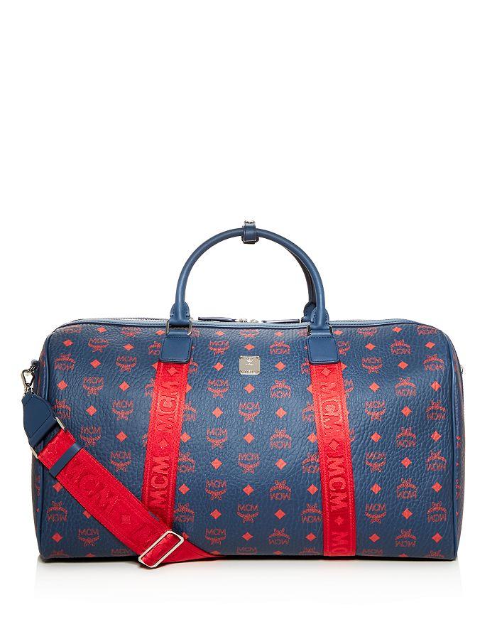 MCM - Traveler Visetos Weekender Bag