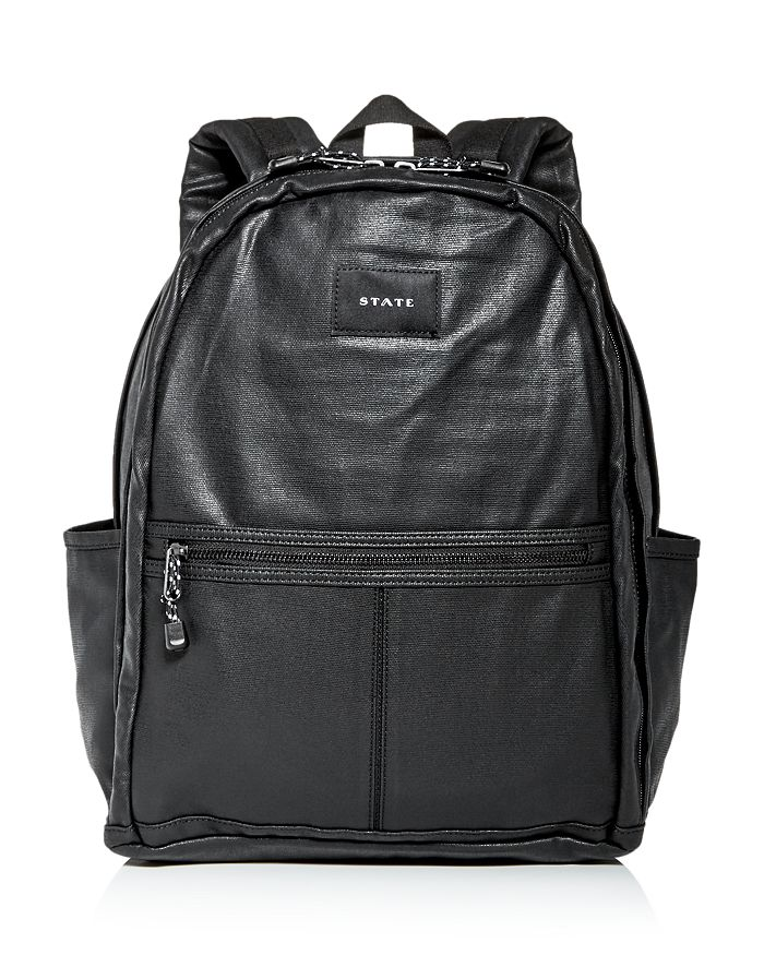 STATE - Bedford Coated Canvas Backpack