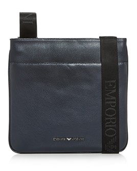 Armani - Leather Messenger Bag