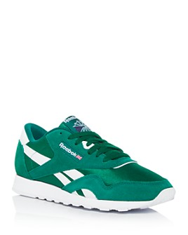 Reebok - Men's Classic Suede Low-Top Sneakers