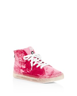 POP SHOES - Girls' Fairmount Light Up Tie Dye Sneakers - Toddler, Little Kid, Big Kid