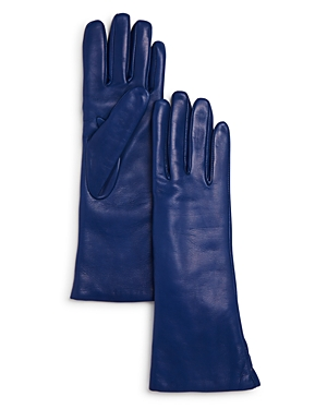 Bloomingdale's Gloves CASHMERE LINED LONG LEATHER GLOVES - 100% EXCLUSIVE