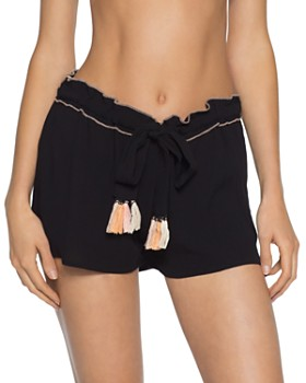 BECCA® by Rebecca Virtue - Jetsetter Swim Cover-Up Shorts