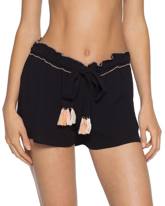 BECCA® by Rebecca Virtue - Jetsetter Swim Cover-Up Shorts