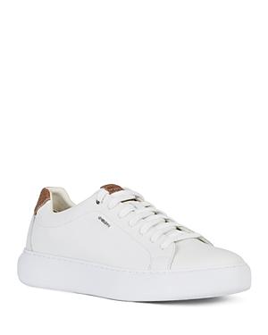 Geox Men's Deiven Leather Sneakers