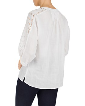 Gerard Darel - Marylou Embroidered Inset Top