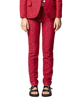 Zadig & Voltaire - Leopard-Print Pants