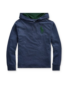 Ralph Lauren - Boys' Big Pony Hooded Tee - Big Kid