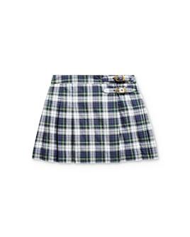 Ralph Lauren - Girls' Plaid Madras Skirt - Little Kid