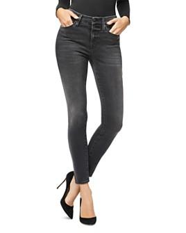 Good American - Good Legs Crop Jeans in Black058