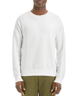 Theory - Otto Textured Raglan Sweatshirt