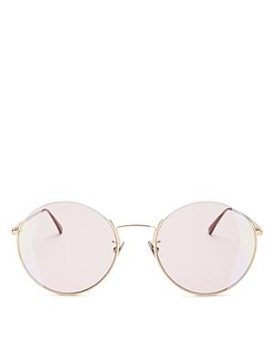 Bottega Veneta Women's Round Sunglasses, 57mm