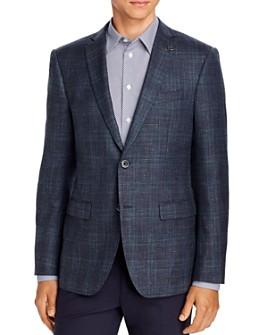 John Varvatos Star USA - Plaid Slim Fit Sport Coat