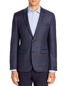 HUGO - Astian Plaid Extra Slim Fit Suit Jacket - 100% Exclusive