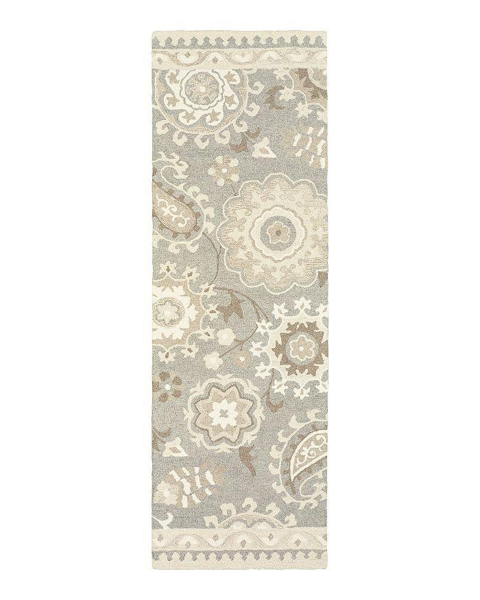 """Oriental Weavers - Craft 93003 Runner Rug, 2'6"""" x 8'"""