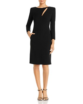 Armani - Cutout Sheath Dress