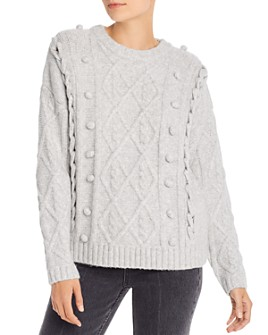 Line & Dot - Mila Cable-Knit Sweater