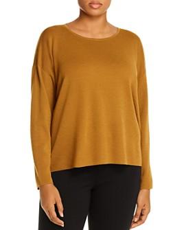 Eileen Fisher Plus - Merino Wool Sweater