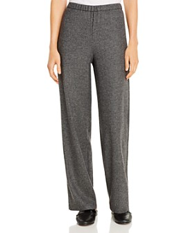 Eileen Fisher - Tweed Wide-Leg Pants