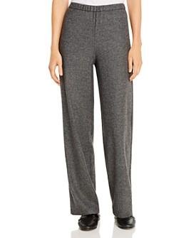 Eileen Fisher - Tweed Wide-Leg Pants