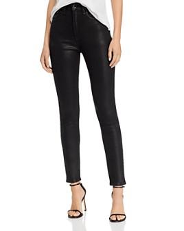 rag & bone - Nina Coated High-Rise Skinny Jeans