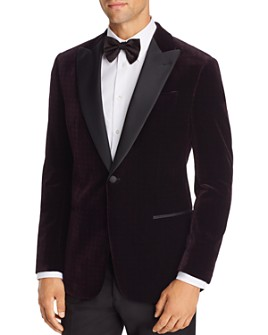 Armani - Velvet Regular Fit Tuxedo Jacket