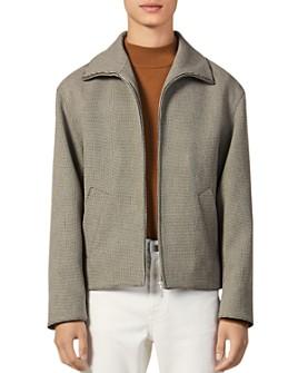 Sandro - Moz Micro-Check Slim Fit Jacket