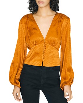 Sanctuary - Textured V-Neck Top
